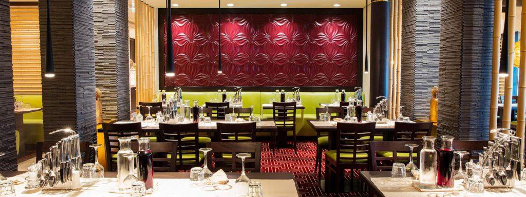 Източен ресторант на борда на АИДА